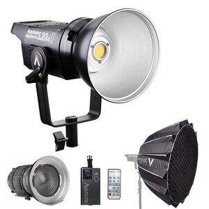 Дневный светильник Aputure LS C120d 120D II, светодиодный светильник 180 Вт с непрерывным v-образным креплением + Крепление прожектора с линзой Френеля ...