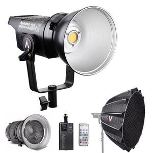 Aputure LS C120d 120D II Daylight 180W LED Continuous V-Mount Video Light + Fresnel mount 2x + Light Dome II Studio LED Light(China)