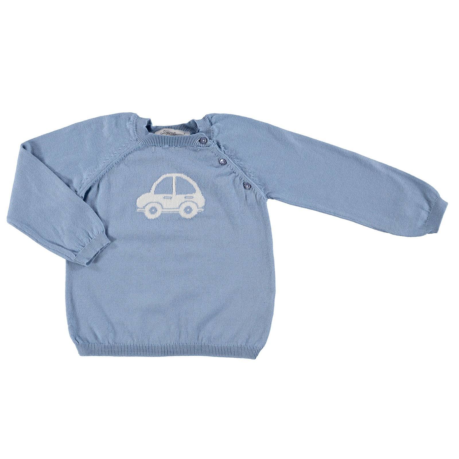 Ebebek Efgima Baby Winter Car Patterned Jumper