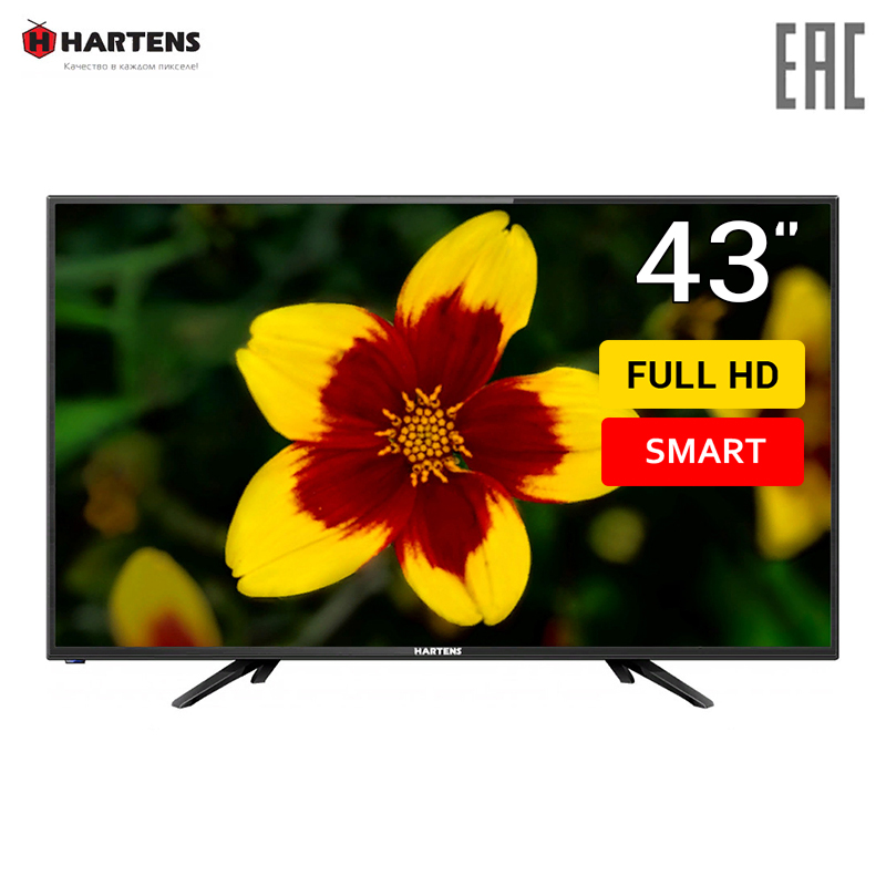 LED Television HARTENS 43F01T2CB home video equipment television smartTV FullHD dvb dvb-t dvb-t2 43inchTV
