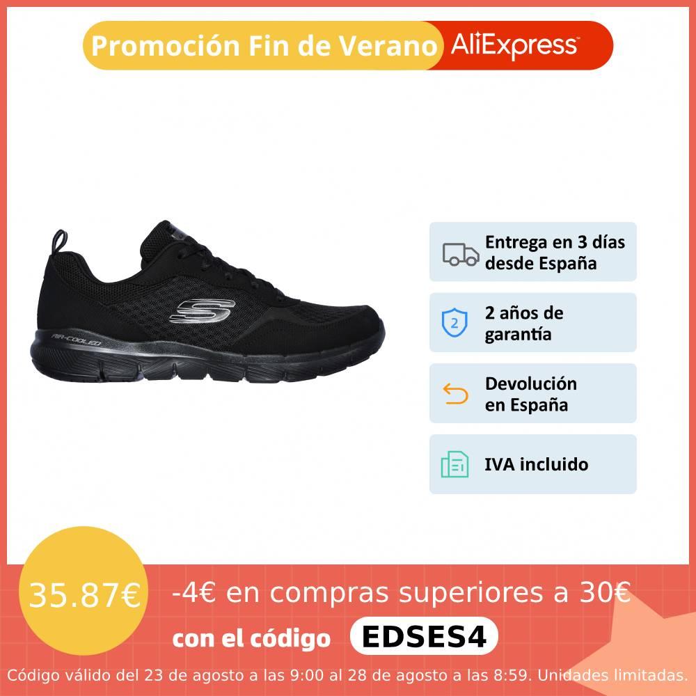 ZAPATILLAS MUJER SKECHERS Flex Appeal 3.0 Go Forward Zapatillas deporte Mujer, Memory Foam, malla sintética NUEVO ORIGINAL|Zapatos vulcanizados de mujer| - AliExpress