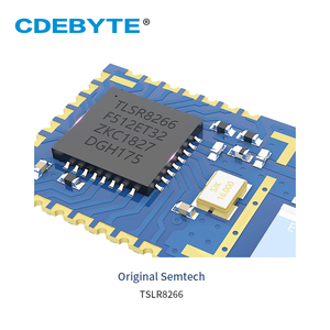 Image 5 - TLSR8266 Bluetooth BLE4.2 UART SMD Transceiver E104 BT05 70m Slave Transparent Transmission Low Power Wireless Module