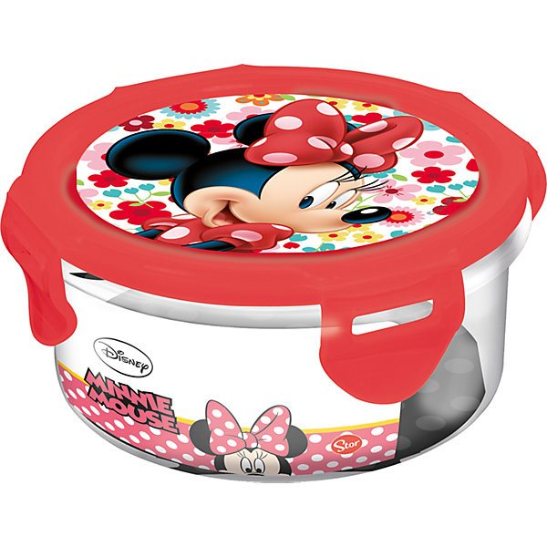 Plastic Container Stor Minnie Mouse 270 Ml