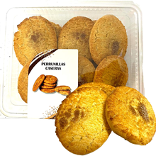Traditional Lazarus Perrunillas container, pasta made with and taste of anise, cinnamon, 350 grams, 8 units.