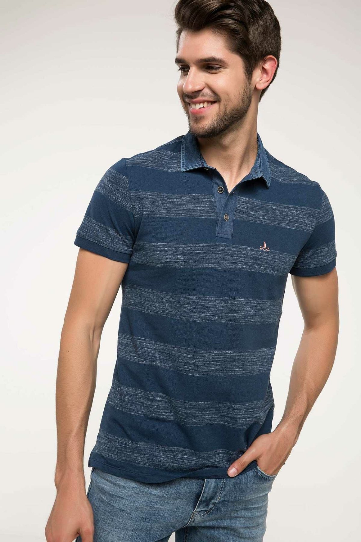 DeFacto Man   Polo   Shirt-I6563AZ18SM