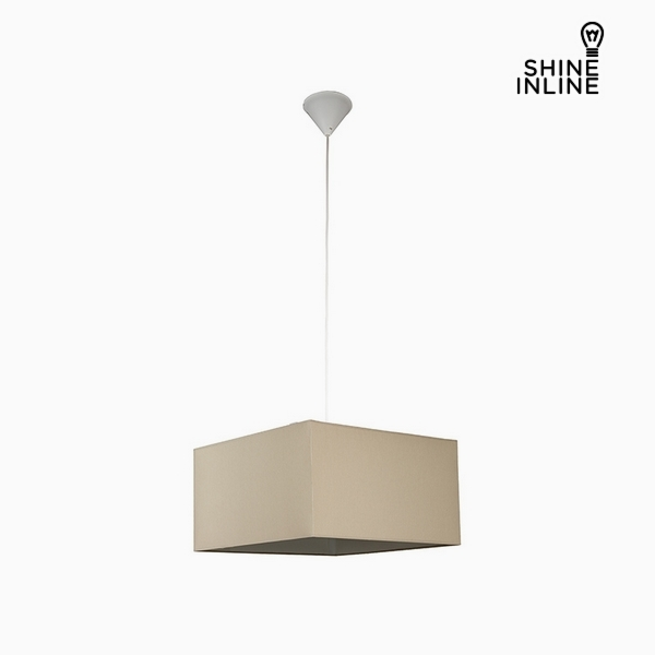 Ceiling Light Brown (40 X 40 X 22 Cm) By Shine Inline