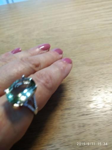Anéis Pedras Preciosas Meninas