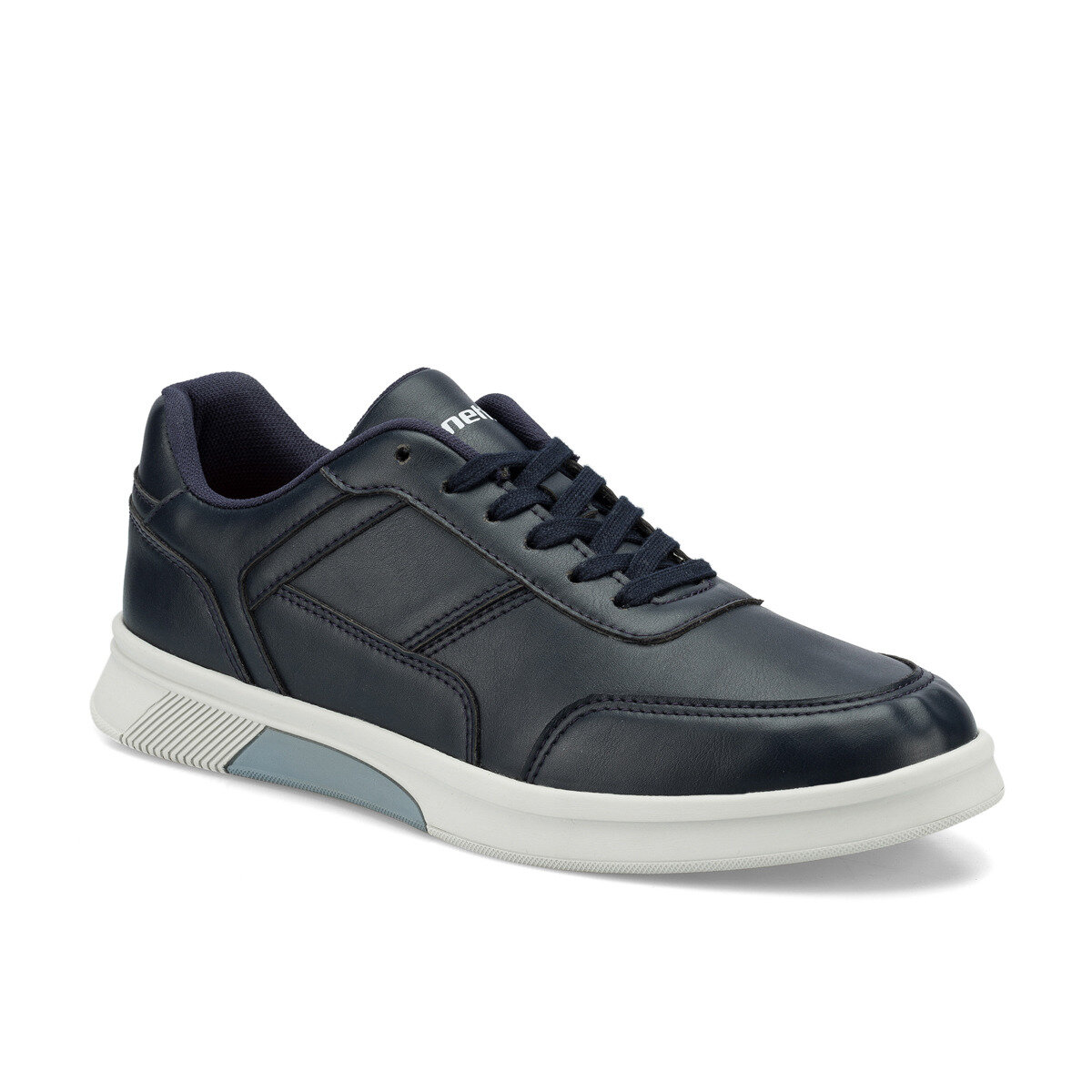 FLO WAREN Navy Blue Men 'S Sneaker Shoes KINETIX