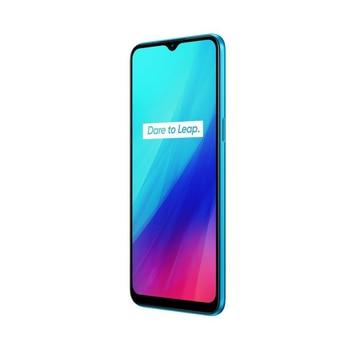 Перейти на Алиэкспресс и купить Realme C3 телефон, синий цвет (синий), 32 ГБ внутренней памяти, 2 Гб оперативной памяти, две sim-карты, 6,5 сенсорный ЖК-дисплей