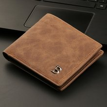Billeteras monederos pequeños para hombre, billetera fina con monedero, bolsa con cierre, nuevo diseño, 2021