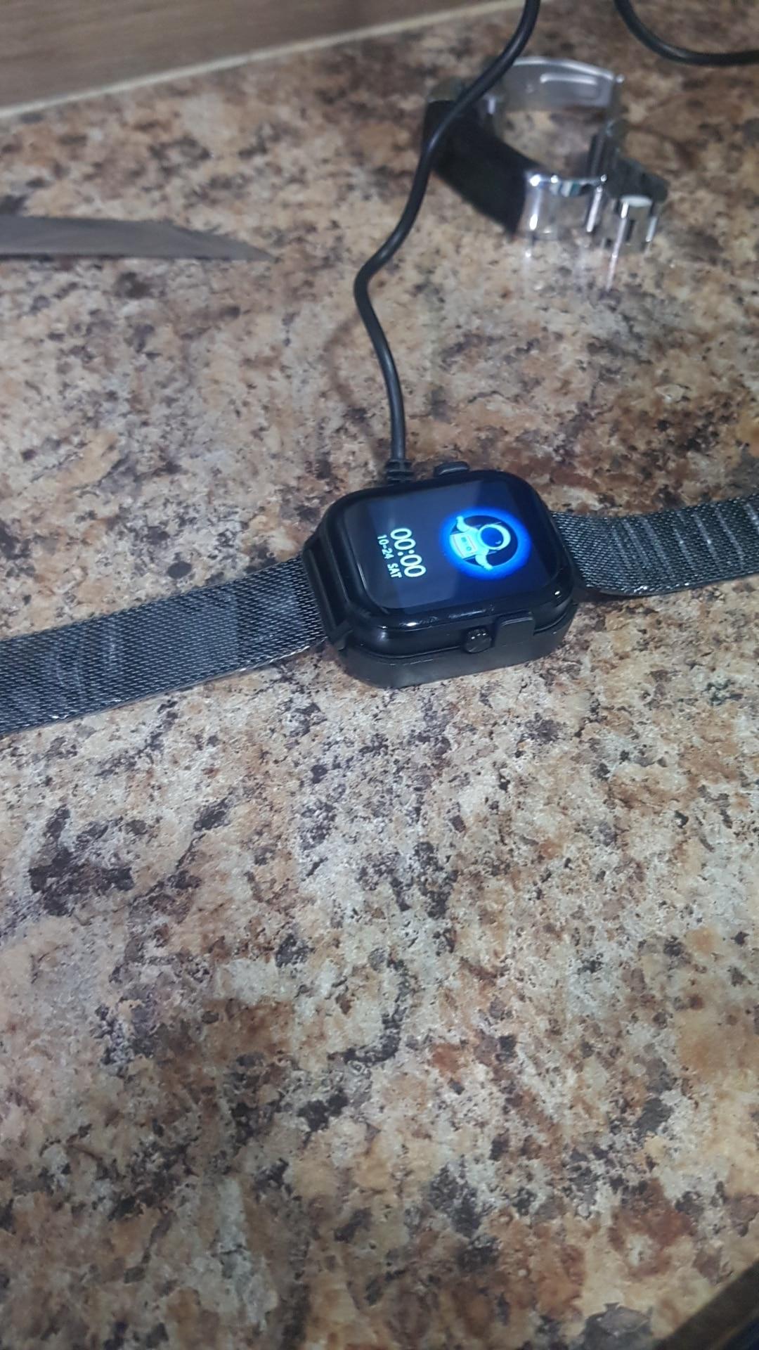 Montre connectée Bluetooth moniteur de fréquence cardiaque