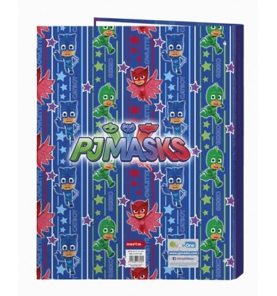 FOLDER FOLIO 4 ANIMIXTAS PJMASKS