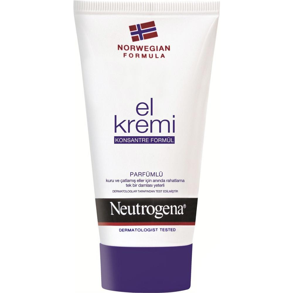 Neutrogena Norwegian Formula Hand Cream Perfumed 75 Ml