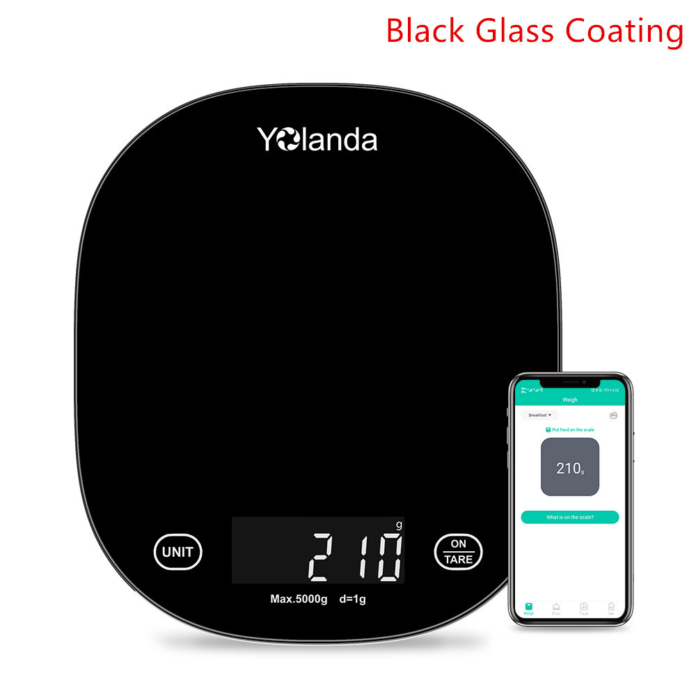 Black Glass LED