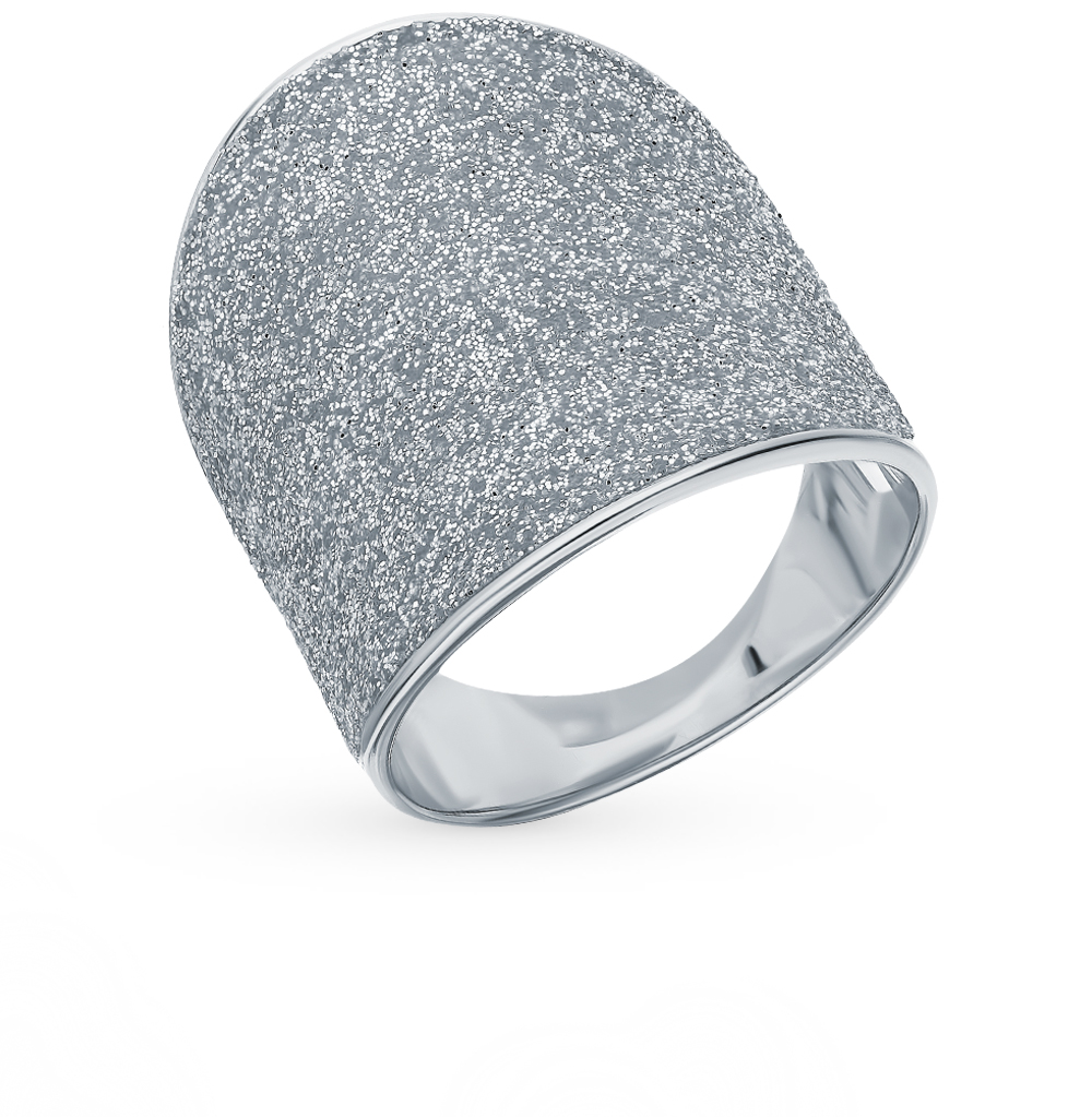 Silver Ring With Crystals SUNLIGHT Test 925