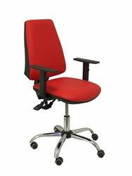 Cadeira de escritório ergonómica com mecanismo synchro e altura ajustável-assento e encosto almofada tecido simipi