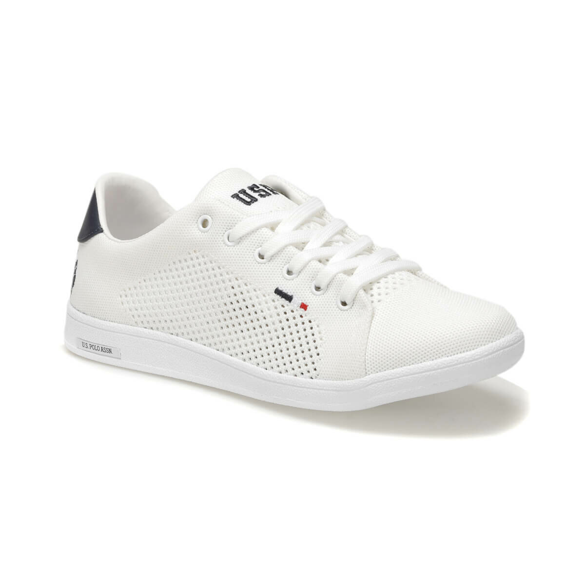 FLO FRANCO KNITTING White Men 'S Sneaker Shoes U.S. POLO ASSN.