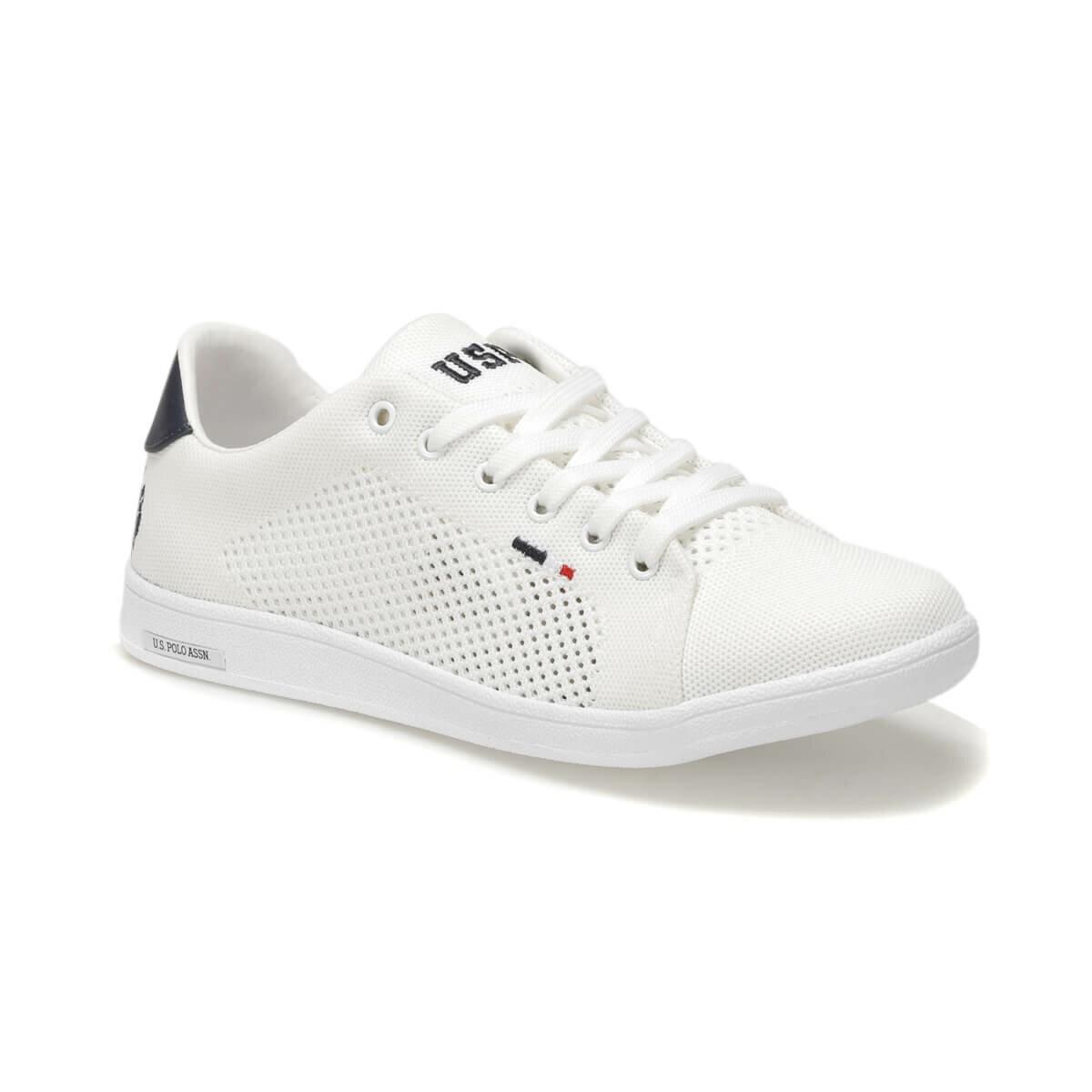 FLO FRANCO KNITTING White Men 'S Sneaker Shoes U.S. POLO ASSN.