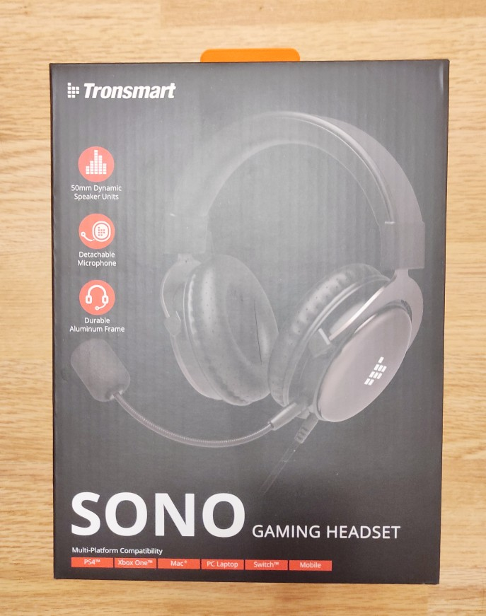 Tronsmart Sono Gaming Headphones Headset Gamer Wired Headphones for computer with Mic for PS4,Xbox One,Switch and Mobile Devices|Headphone/Headset|   - AliExpress