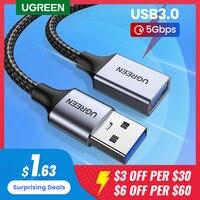 Ugreen cavo USB 3.0 cavo di prolunga USB cavo dati maschio-femmina cavo di prolunga USB3.0 per PC TV cavo di prolunga USB