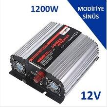 Onduleur à onde sinusoïdale modifiée CARSPA 1200 W WATT 12 V - 24 V / 220 volts