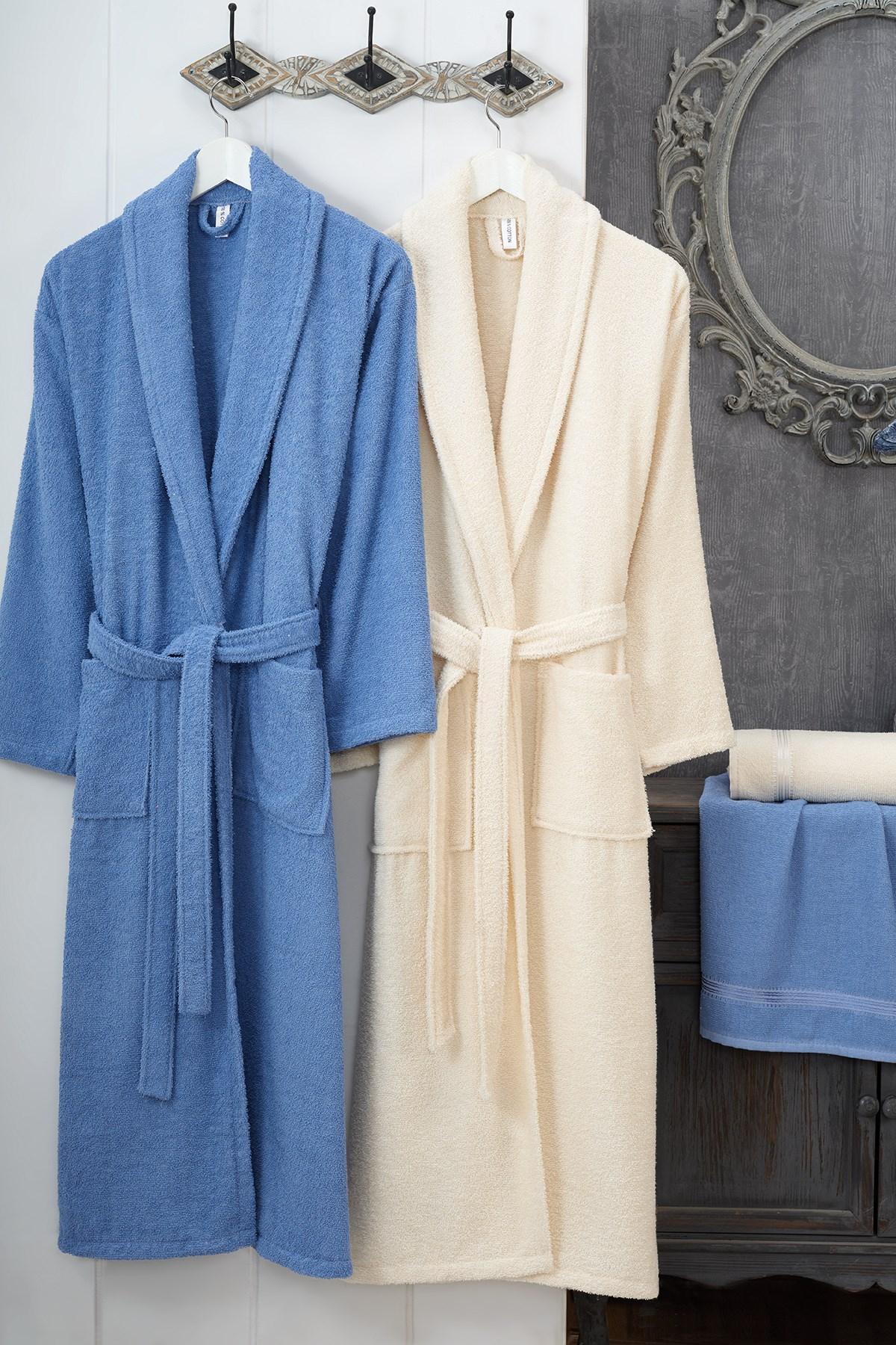 Unisex Bathrobe 100% COTTON Robe Set Thin Fabric Easy Dry Sleepwear Casual Home clothes Nightwear Fast Shipping Turkey Bathroom