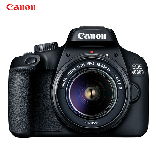 Canon EOS 4000D T100 DSLR Wi Fi Camera with 18 55mm Lens|DSLR Cameras| - AliExpress
