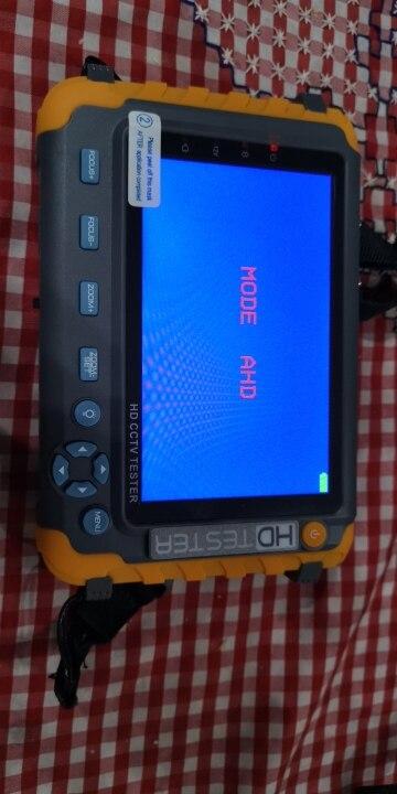 ՆՈՐ 5 դյույմ TFT LCD HD 5MP TVI AHD CVI CVBS անալոգային անվտանգության տեսախցիկի թեստերի մոնիտոր մեկ CCTV թեստերում VGA HDMI մուտքագրում IV8W