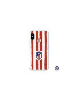 Official Madrid red White SS18-19 athletic case for Xiaomi Mi 6 Pro