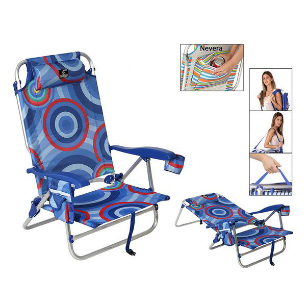 Folding Chair 118505 Blue