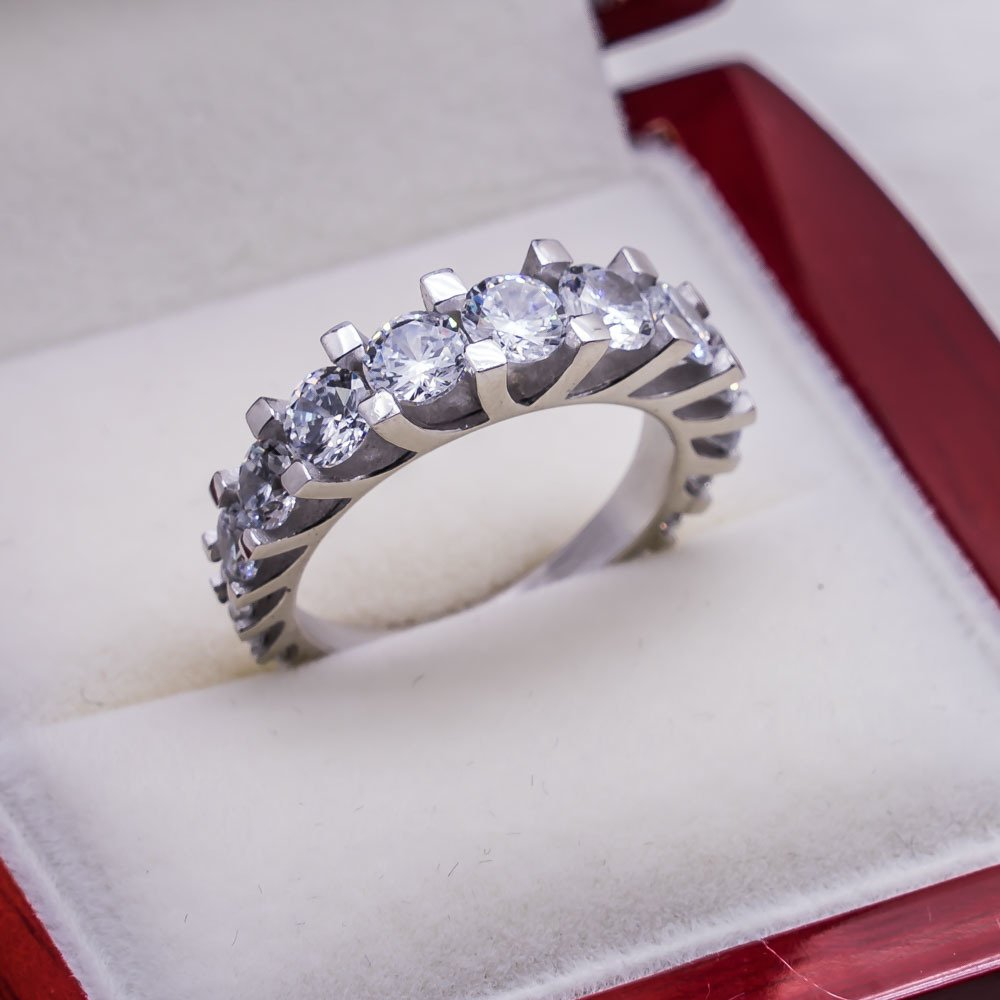 925 sterling Silver Dibs Lady Ring Model 10()