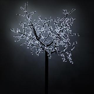 024745 Led Tree ARD-CHERRY-2.4M-BROWN-1728LED White (220V 100 W) ARLIGHT 1-pc