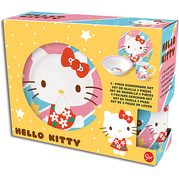 Cookware Set Stor Hello Kitty