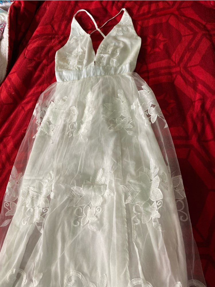 Liva girl 2019 dress Womens Evening Party summer solid elegant dress Formal Chiffon Sleeveless Prom Long  dress reviews №1 151669