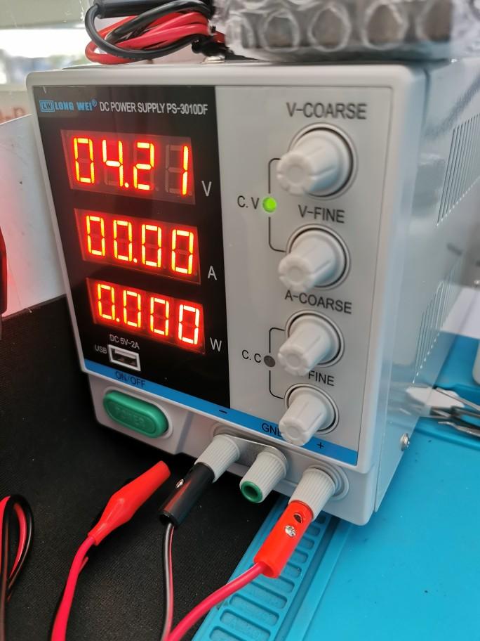 Reguladores de tensão/estabilizadores Ps-3010df Laboratório Alimentação