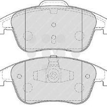 Колодки тормозные дисковые передние RENAULT Laguna III
