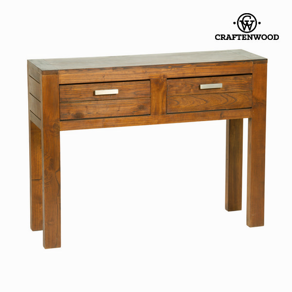 Hall Table With 2 Drawers Ohio Mindi Wood (100 X 30 X 76 Cm) - Be Yourself Collection By Craftenwood