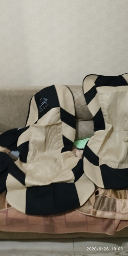 Universal Car Seat Covers Tire style - wernertrade photo review