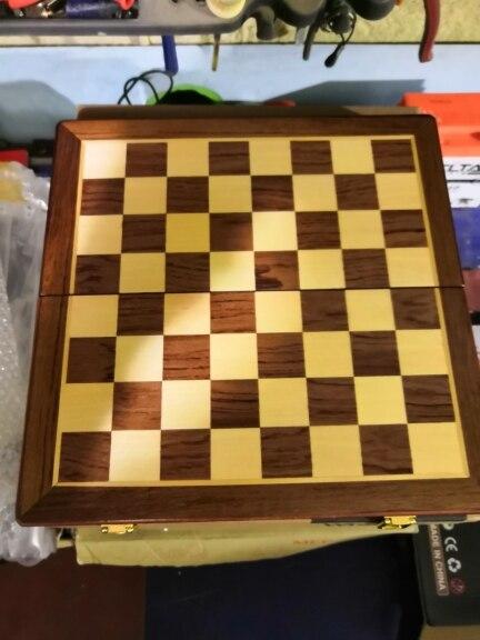 Jogos de xadrez Xadrez Dobrável Madeira