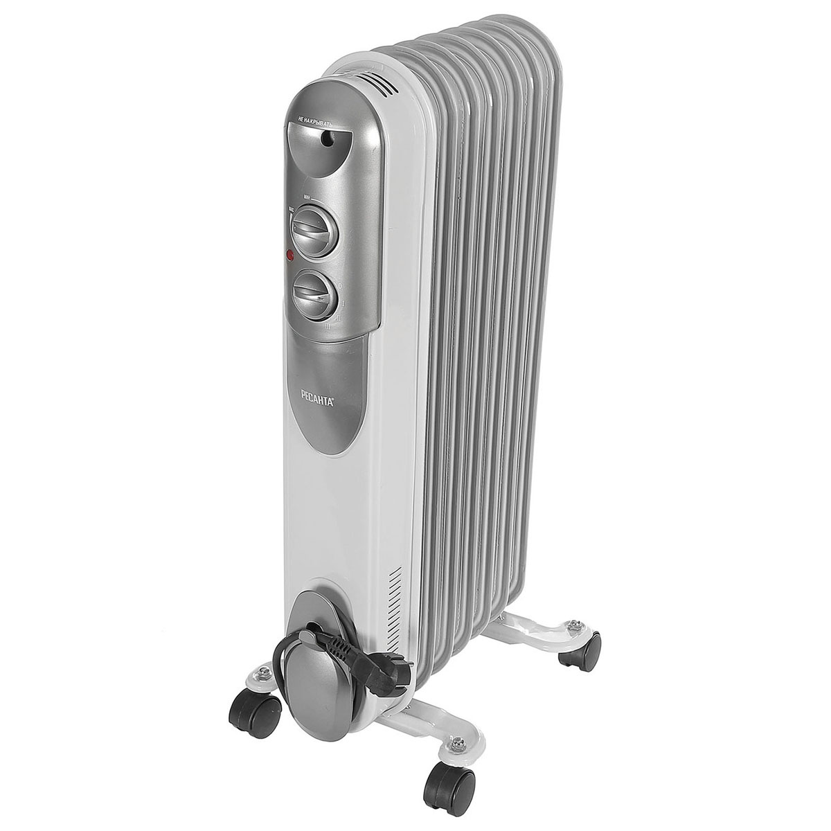 Heater Oil Resanta ОМПТ-7Н (Power 1500 W, 7 sections, adjustment heating) heater oil resanta омпт 7н power 1500 w 7 sections adjustment heating