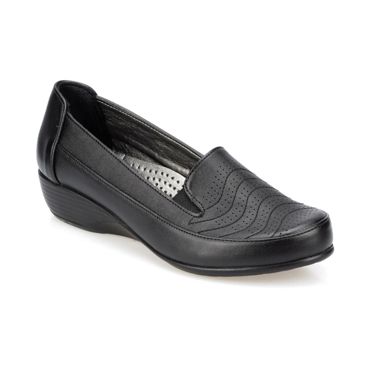 FLO 91.158477.Z Black Women Shoes Polaris