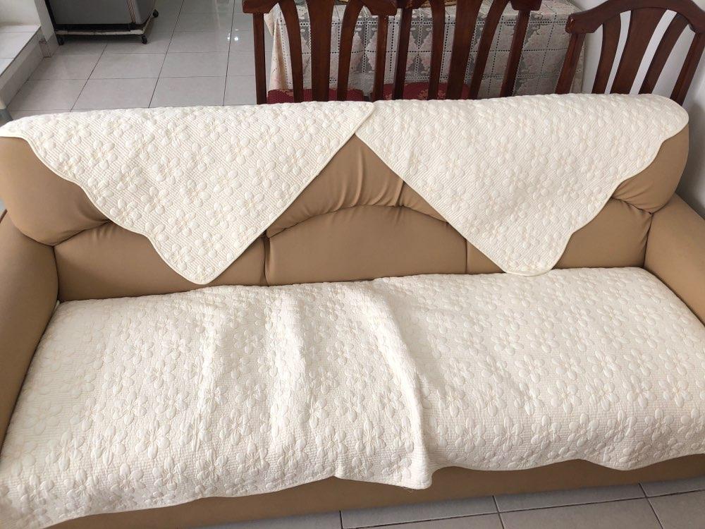 Capa p/ sofá Toalha Simples Moderna
