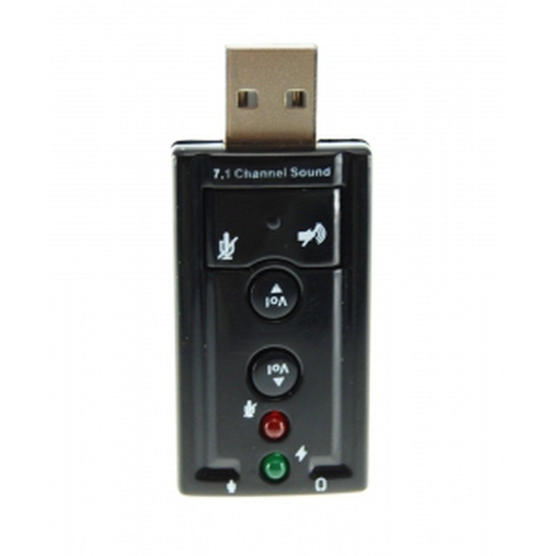 7.1 USB SOUND ADAPTER CARD