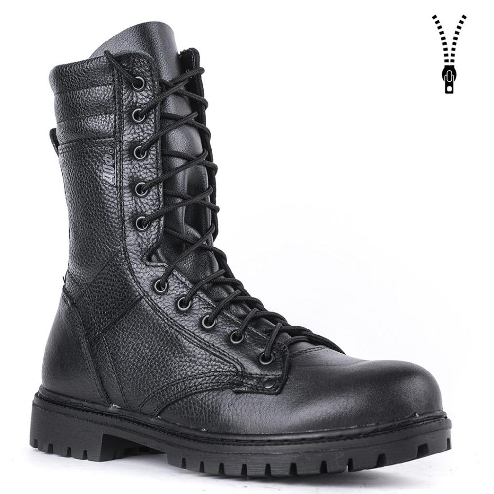 Demiseason Black Ankle Boots With Laces And Zipper Hiking Climbing Shoes Outdoor Boots Army High Quality 0053\1 WA