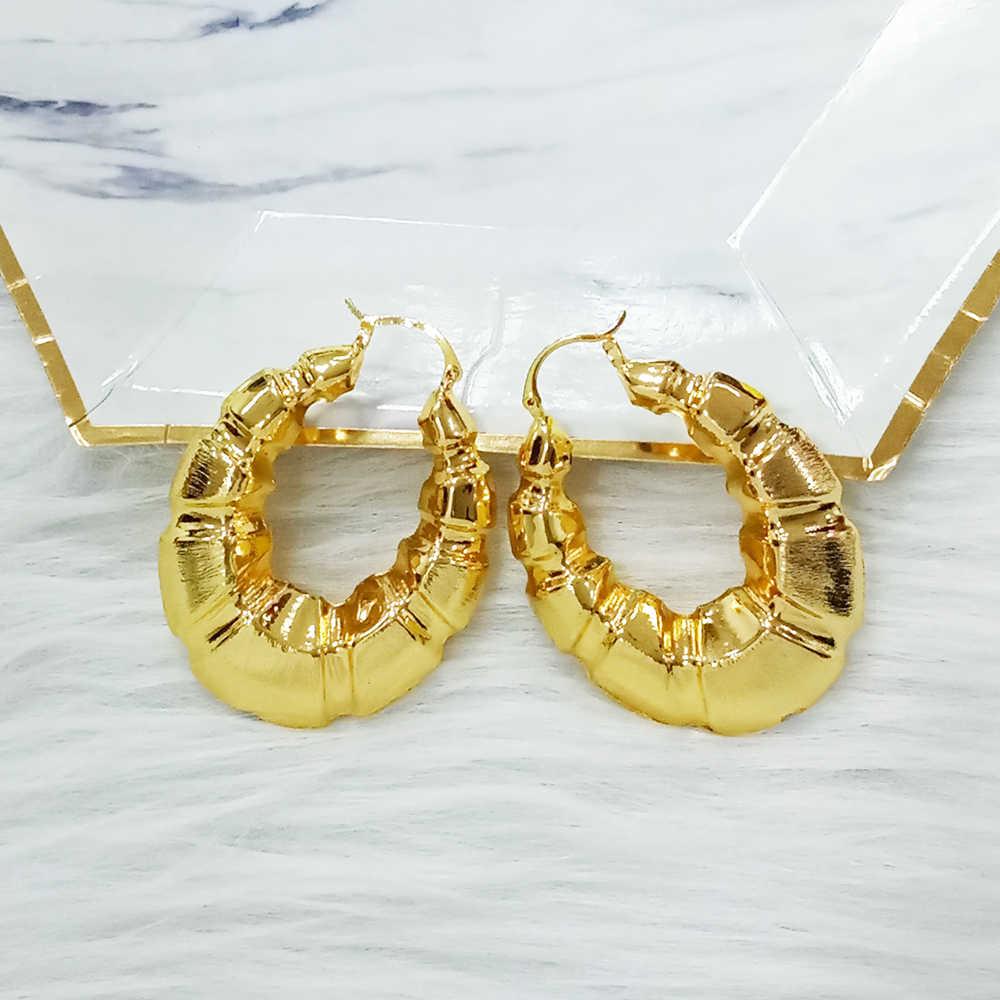 Mirafeel Tembaga Anting-Anting Perhiasan Hot Desain untuk Wanita Afrika Anting-Anting Pernikahan Hadiah Ukuran Besar Anting-Anting Aksesoris