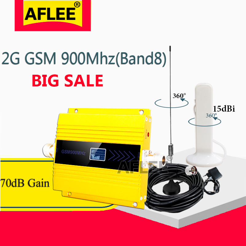 GSM Repeater 900MHZ 2g 3g Mobile Signal Booster UMTS 900 Mhz GSM Cellphone Signal Booster 2G 3g Repetidor Cellular Amplifier