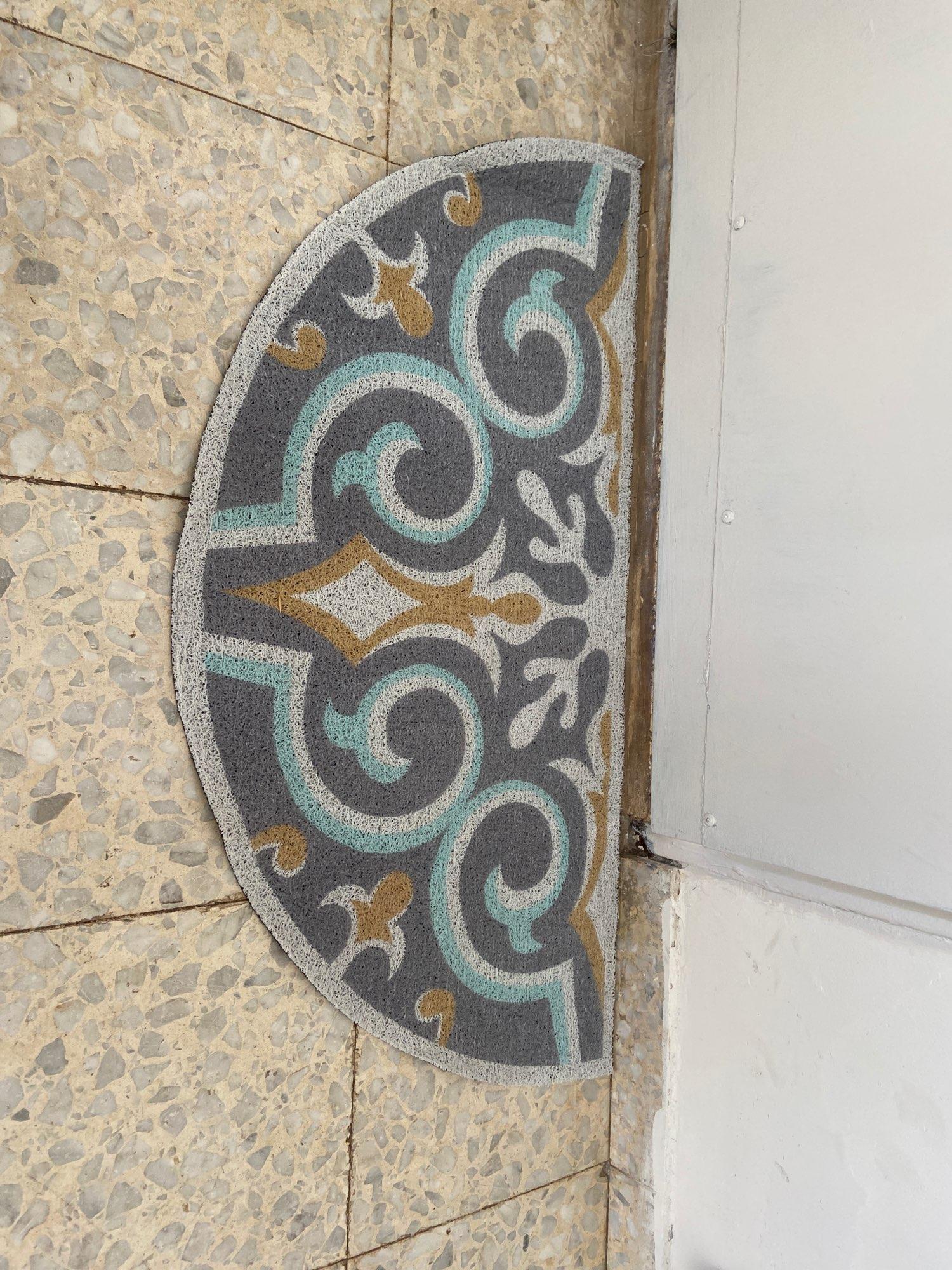 Creative Semicircular Floor Mat