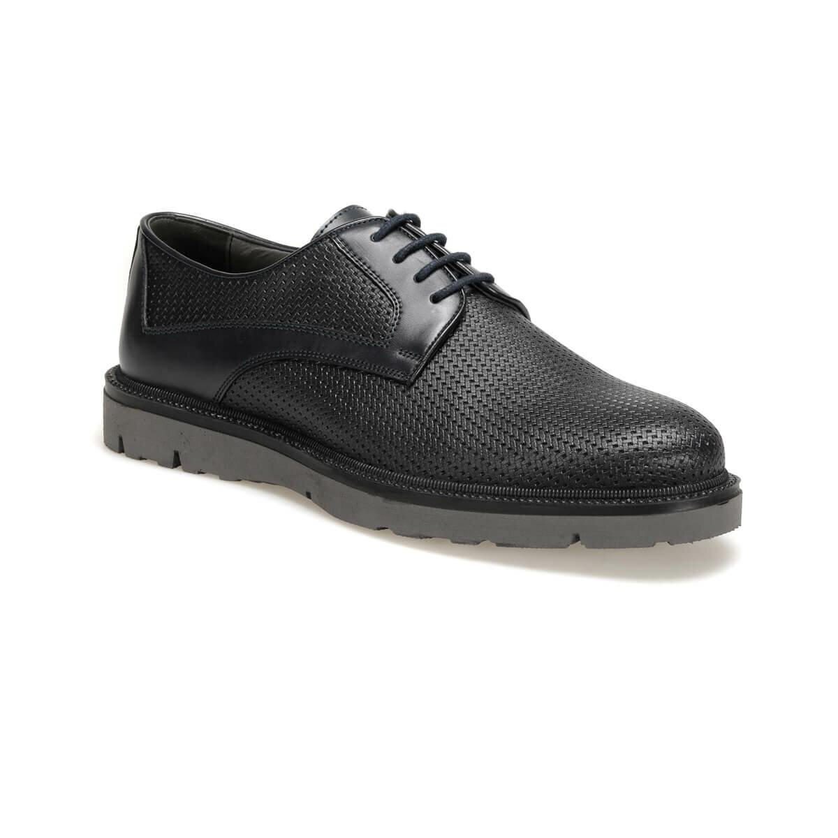 Flo 100 紺男性の古典的な靴 JJ-Stiller