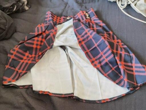 Jupes Femmes Mini À Carreaux D'été Streetwear