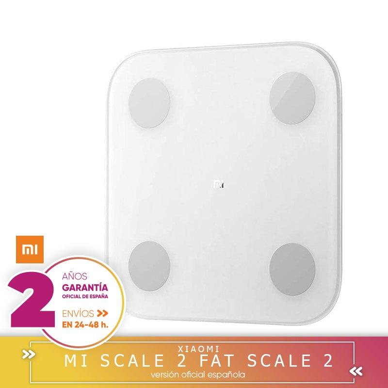 Xiao mi mi Skala 2 Mein fett sacle 2 Waagen Smart Bluetooth Weiß Bioimpedancia Medidar B mi mit anwendung Xiao mi mein fit